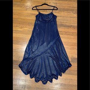 Women's Elegant Looking Navy Blue Dress, Size 1X